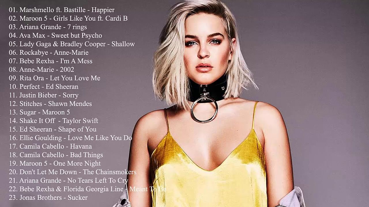 New pop music this week