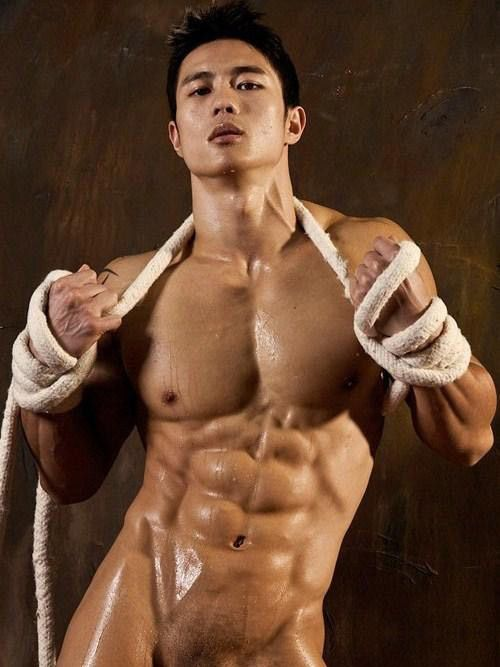 Sexiest naked chinese men