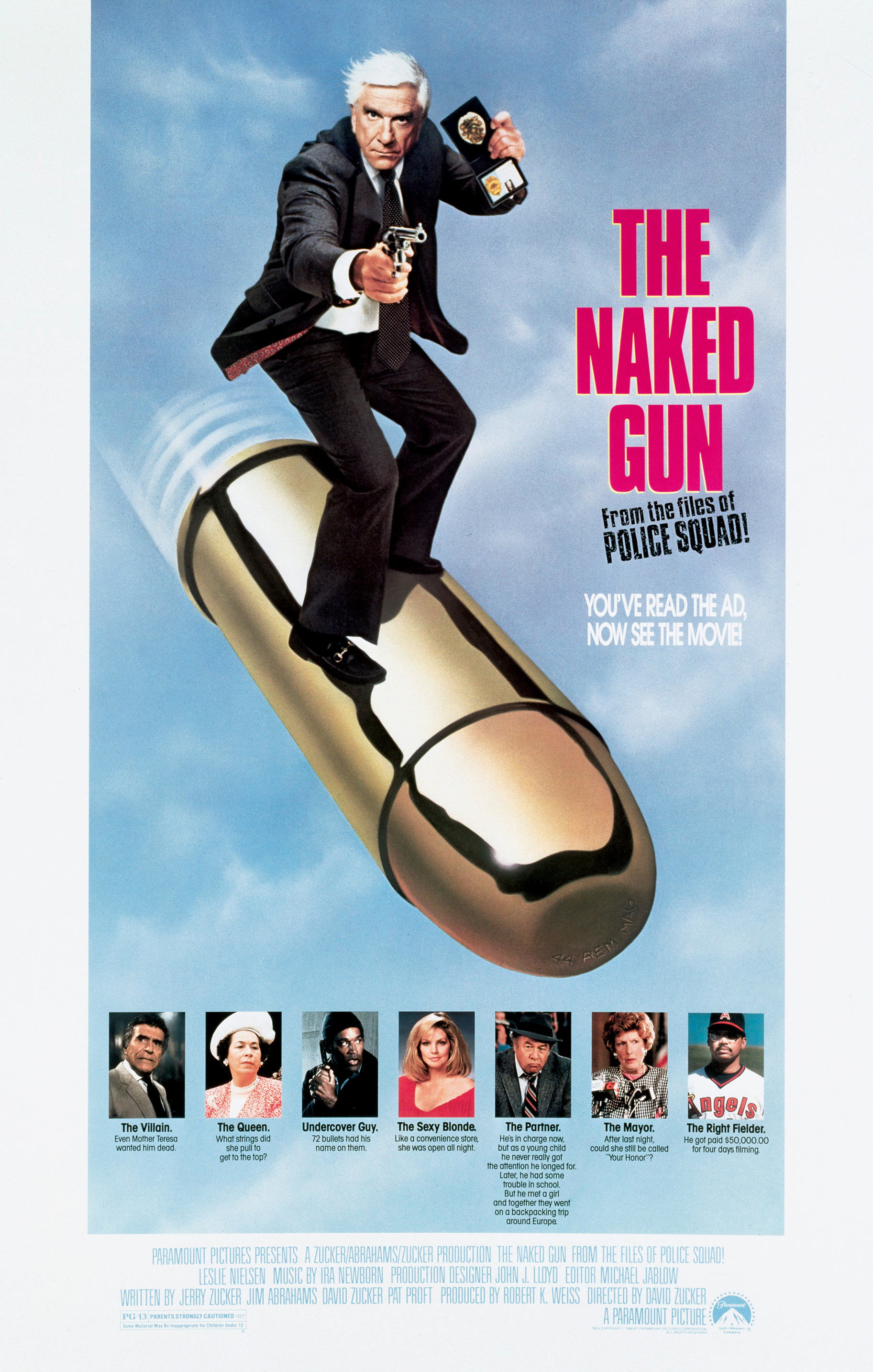 Two guns cast nude